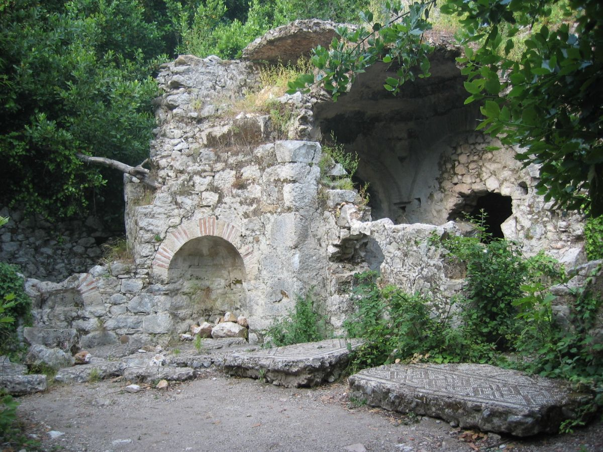 ruins in olympos turkey