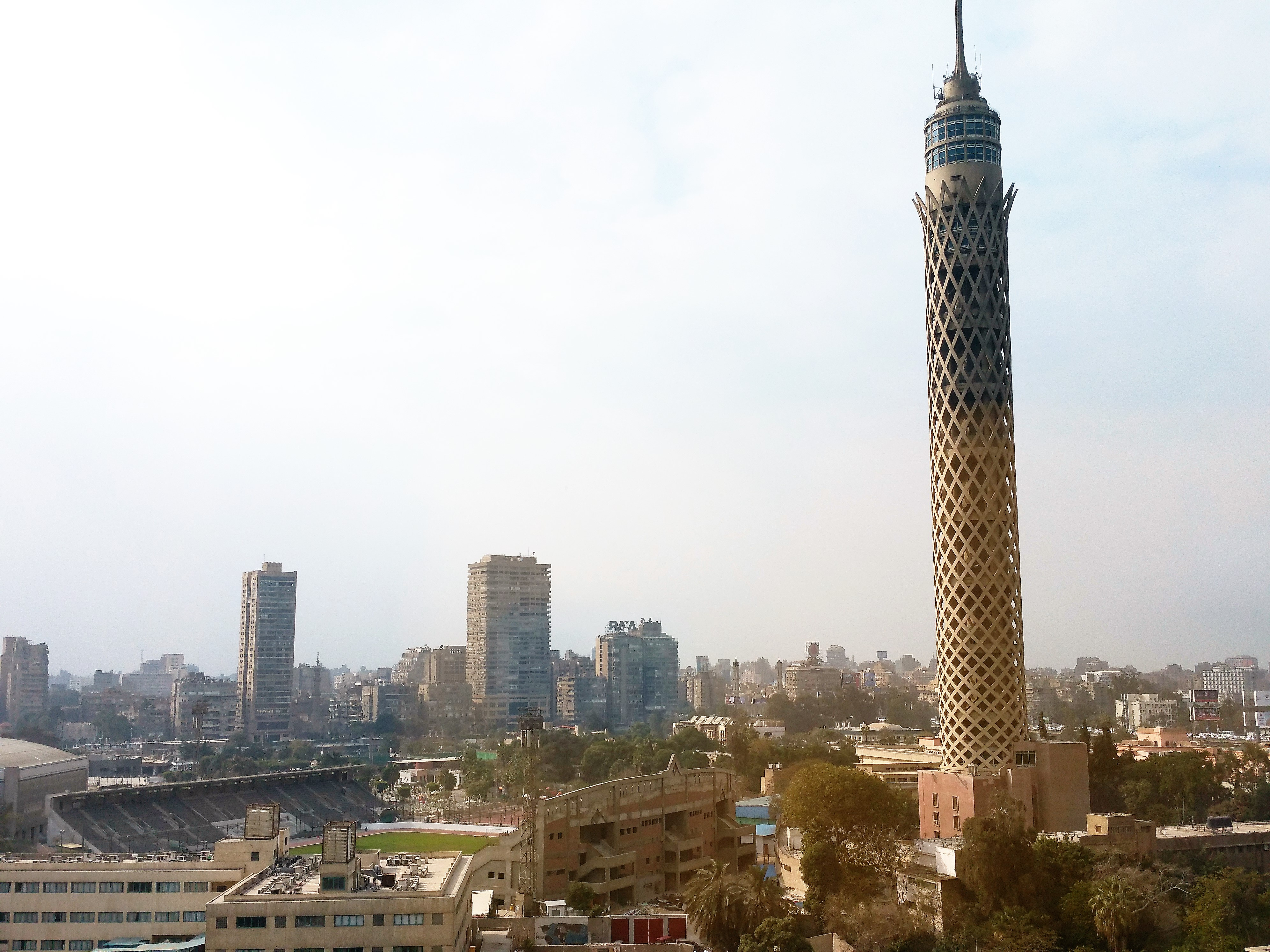 Cairo Tower view of novotel el borg