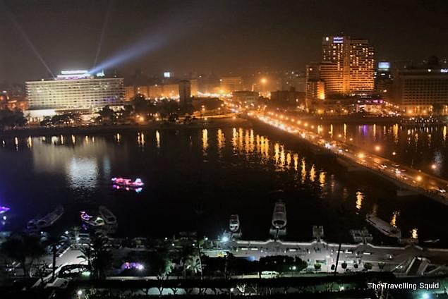 bridge zamelek cairo night
