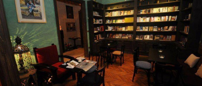 Sufi bookstore inside - credits Sufi bookstore facebook