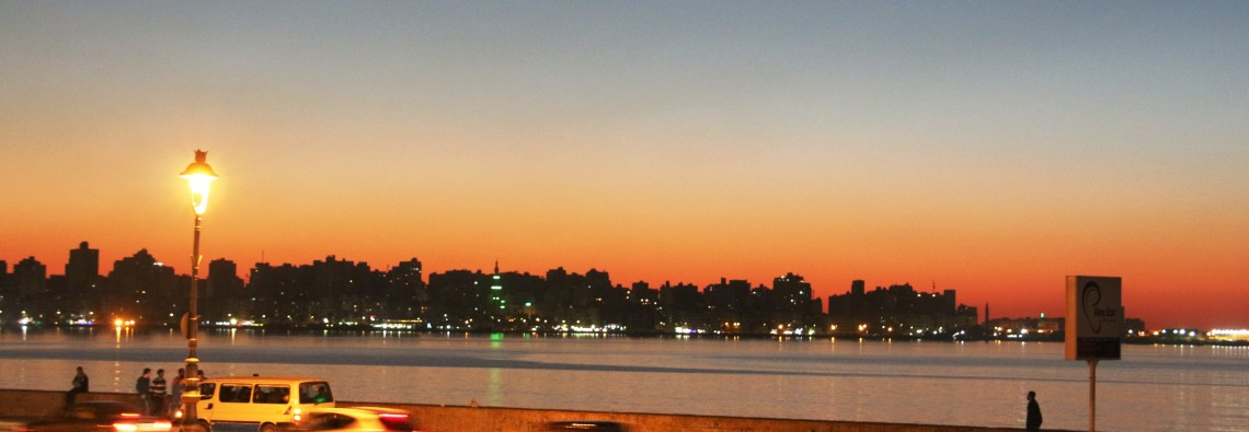 alexandria dusk evening