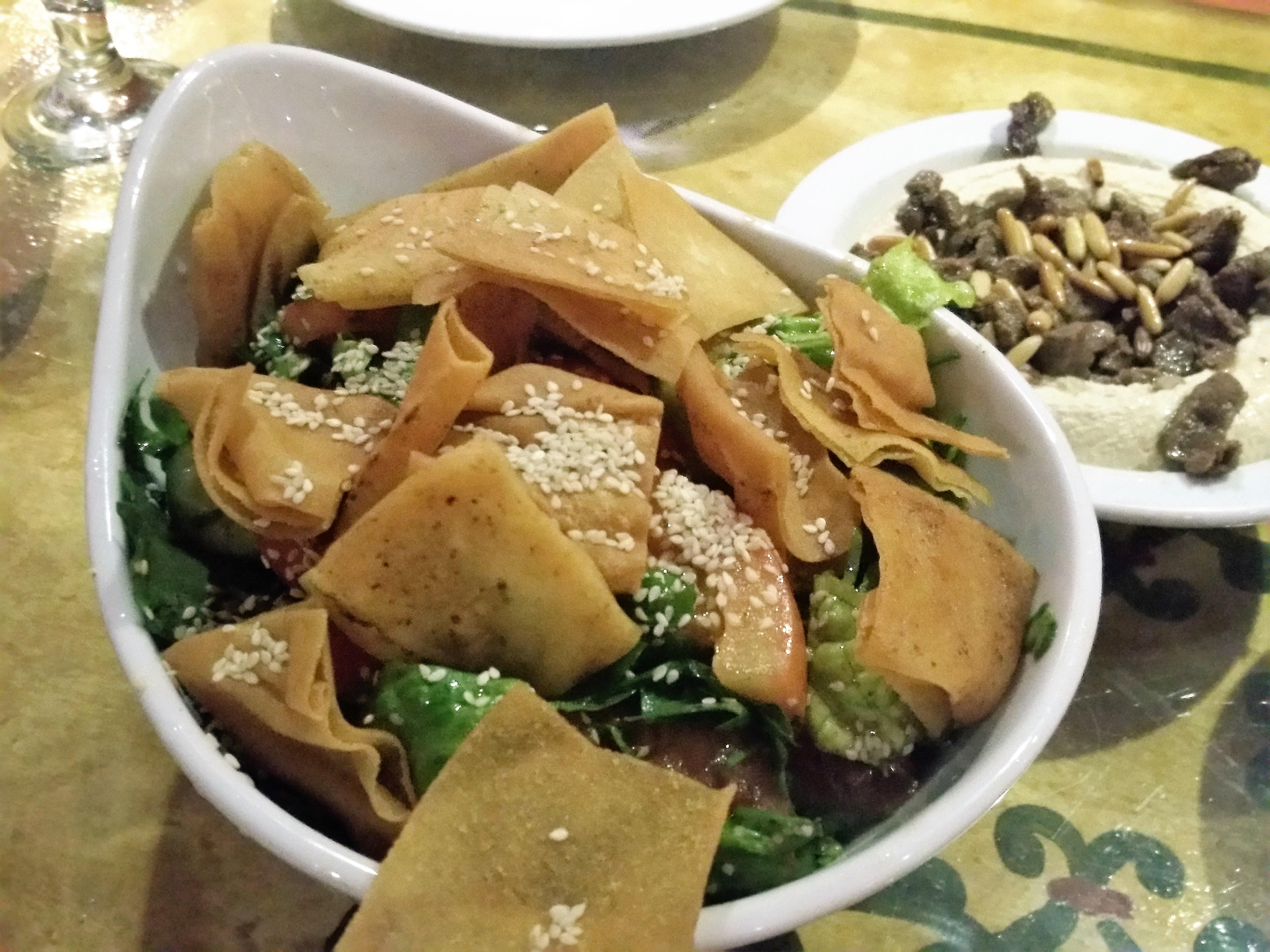 Taboula Lebanese salad