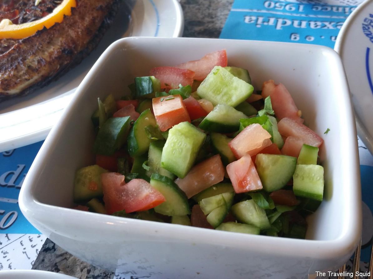 kadoura alexandria egypt salad