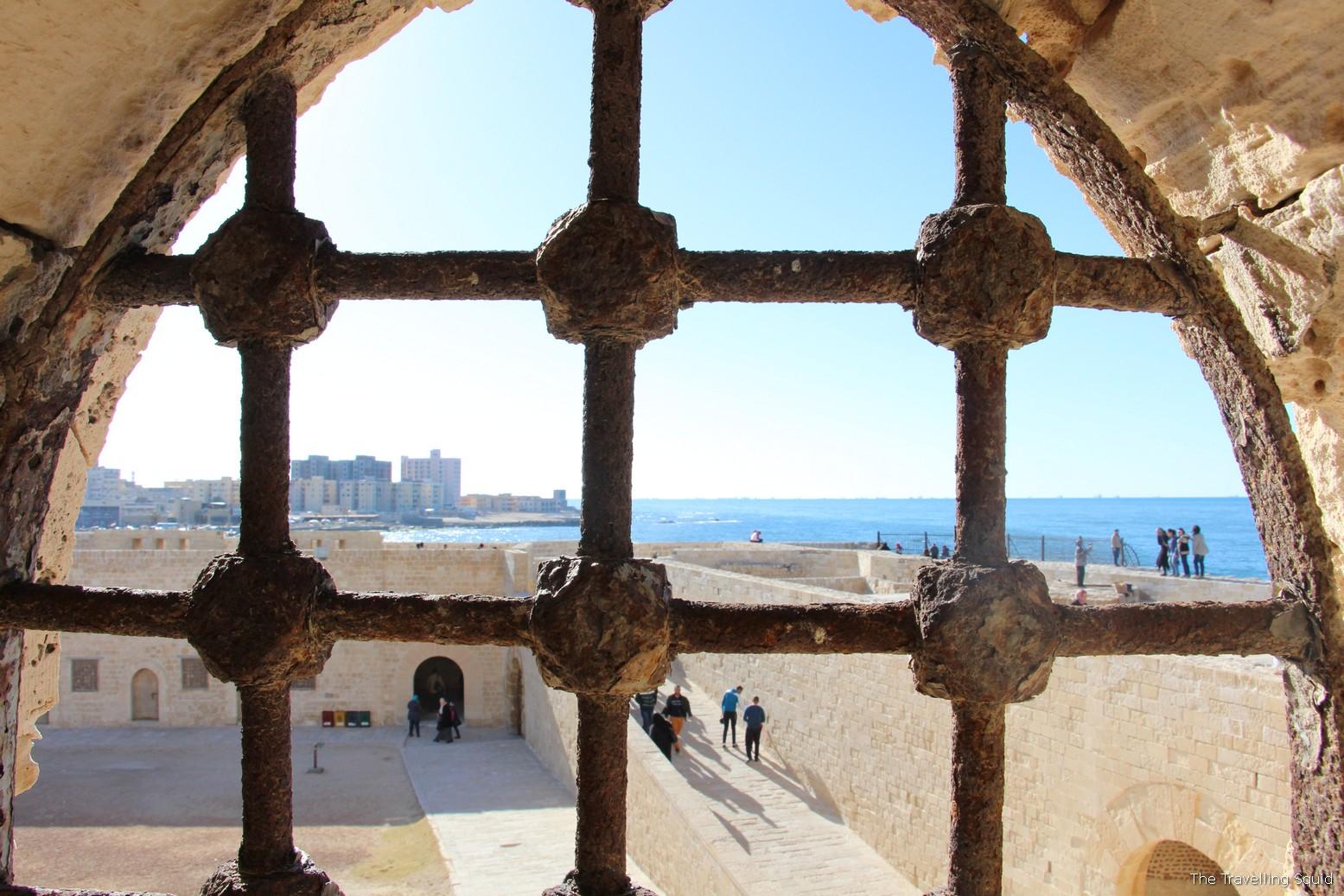 Citadel of Qaitbay alexandria egypt