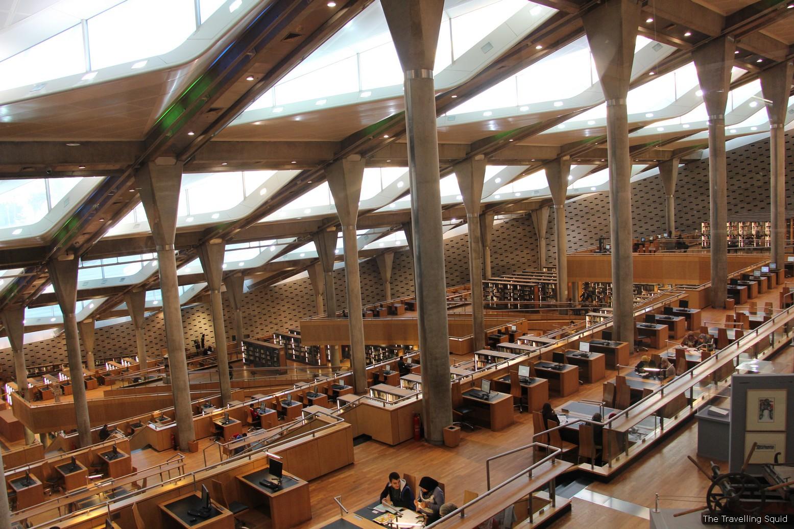 Bibliotheca Alexandrina best library egypt