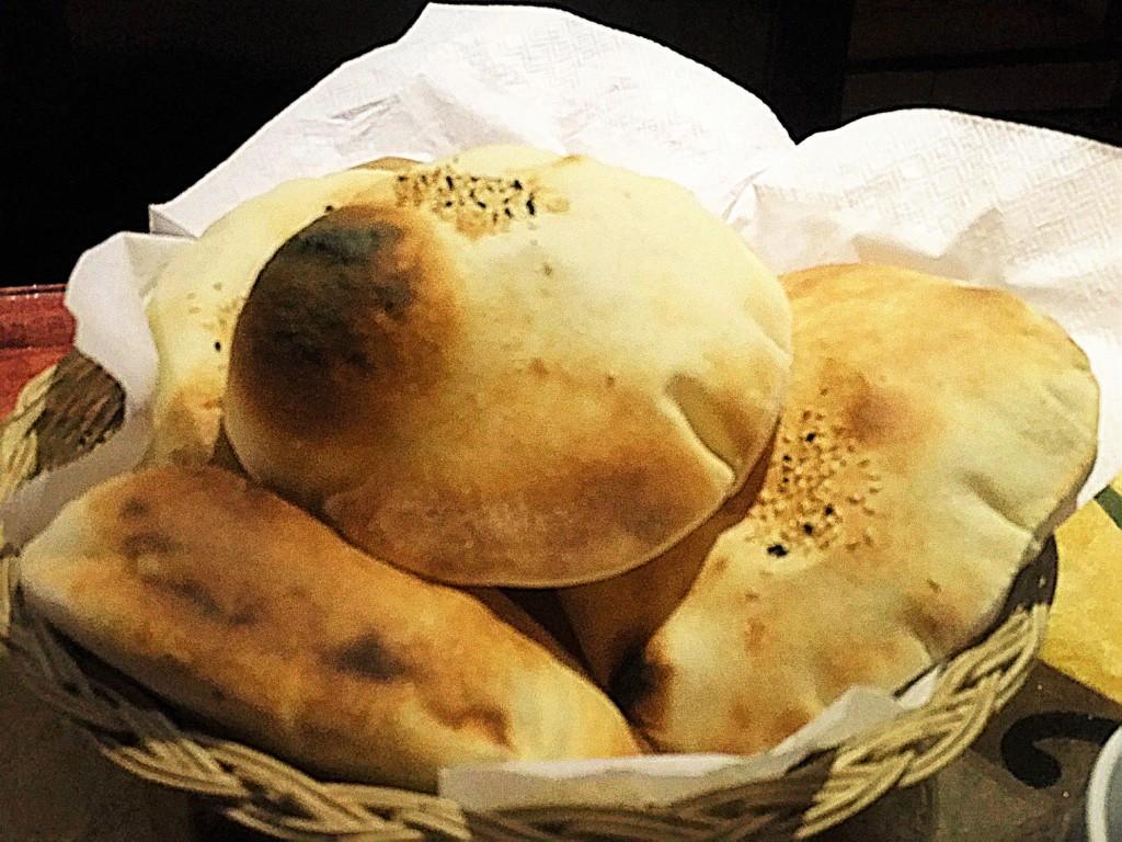 Taboula Lebanese cairo fluffy pita bread