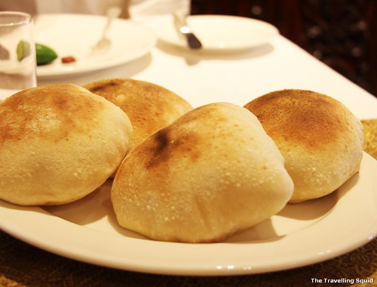 sabaya intercontinental cairo lebanese pita bread