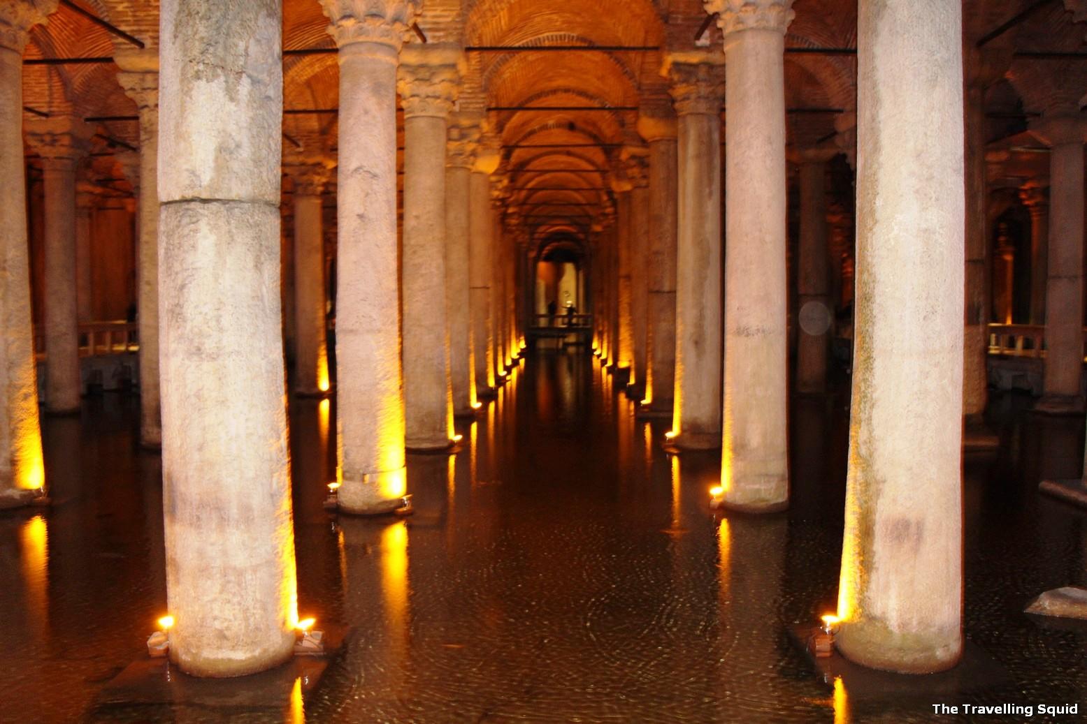 Basilica Cistern turkey istanbul
