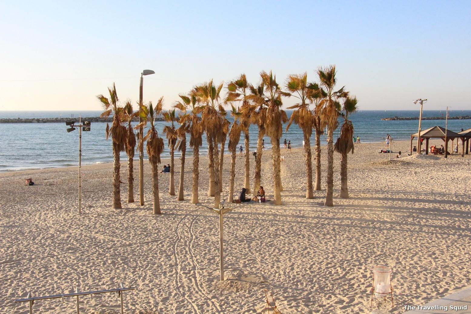 tel aviv beach israel