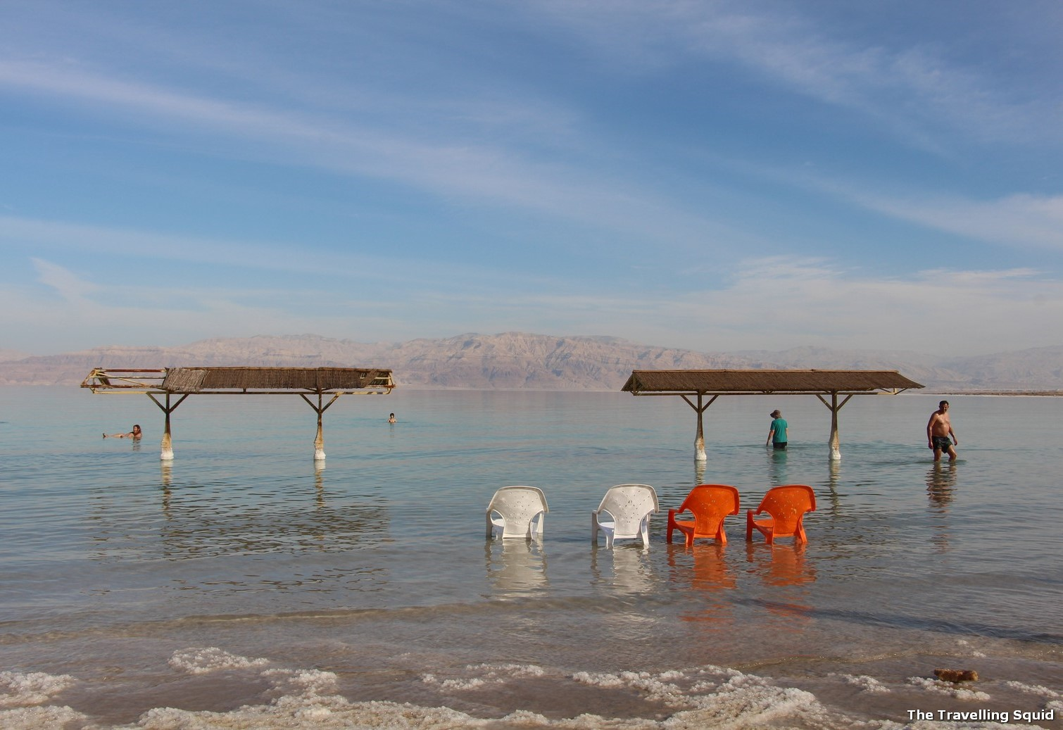 swimming dead sea israel