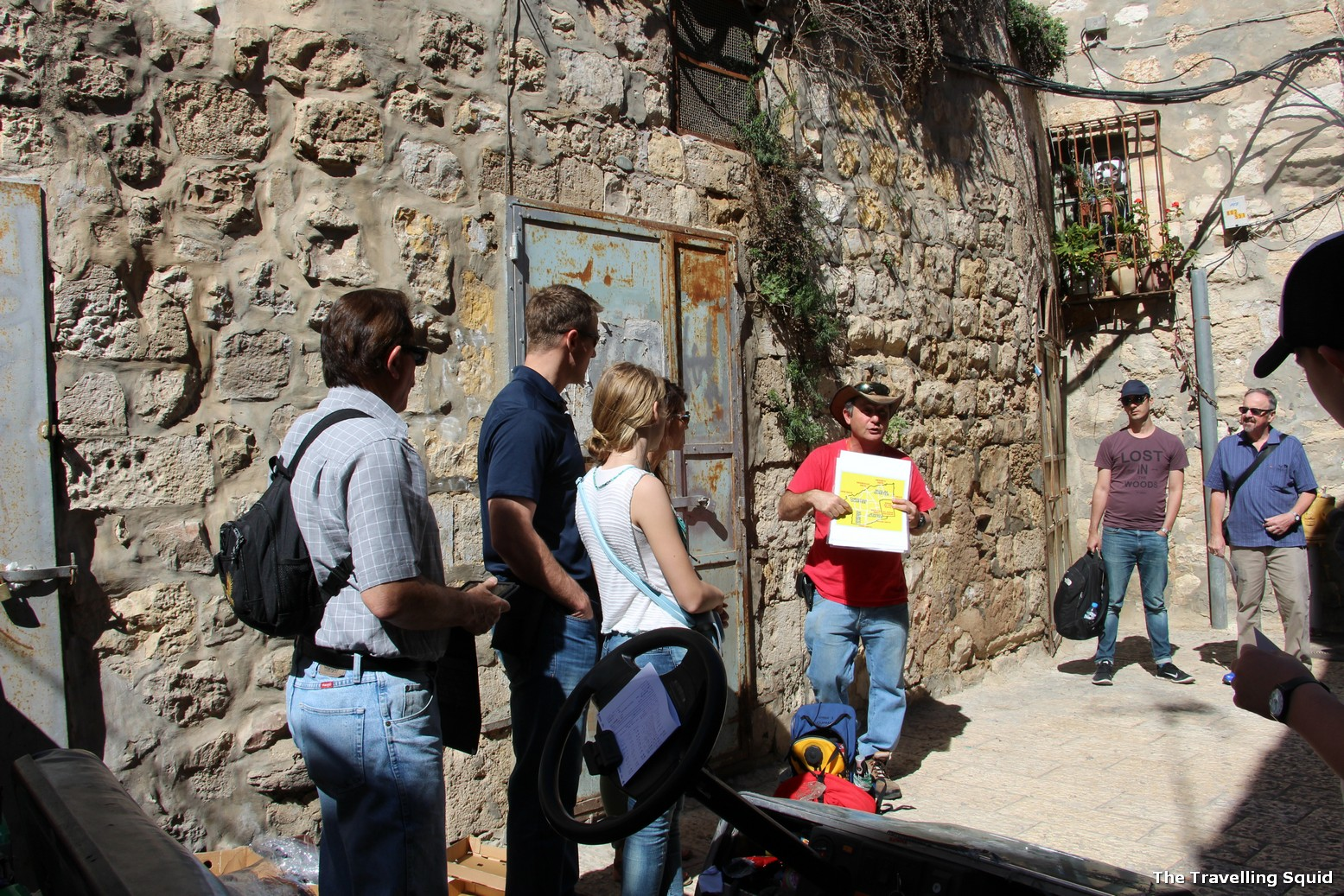 Sandemans tour of the Jerusalem Old City