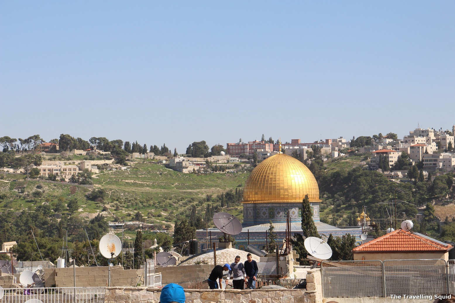sandemans tour israel dome of the rock