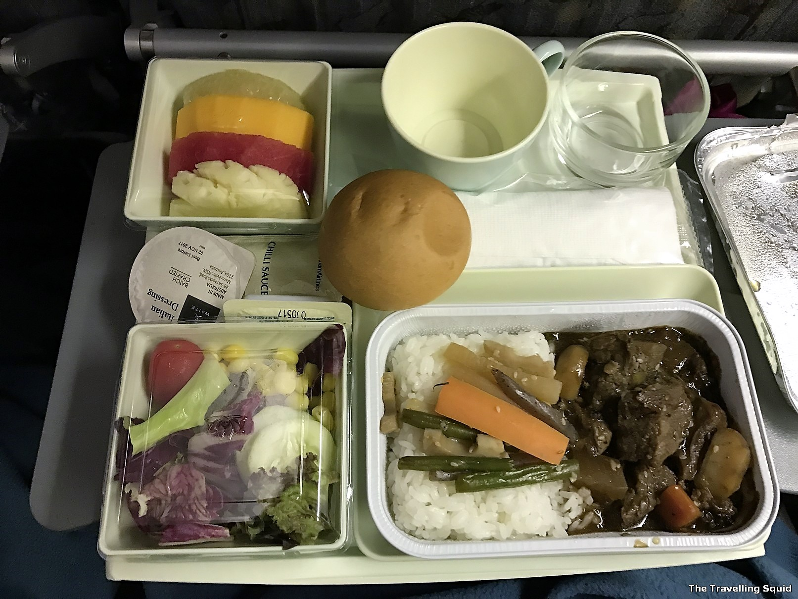 vietnam airlines food