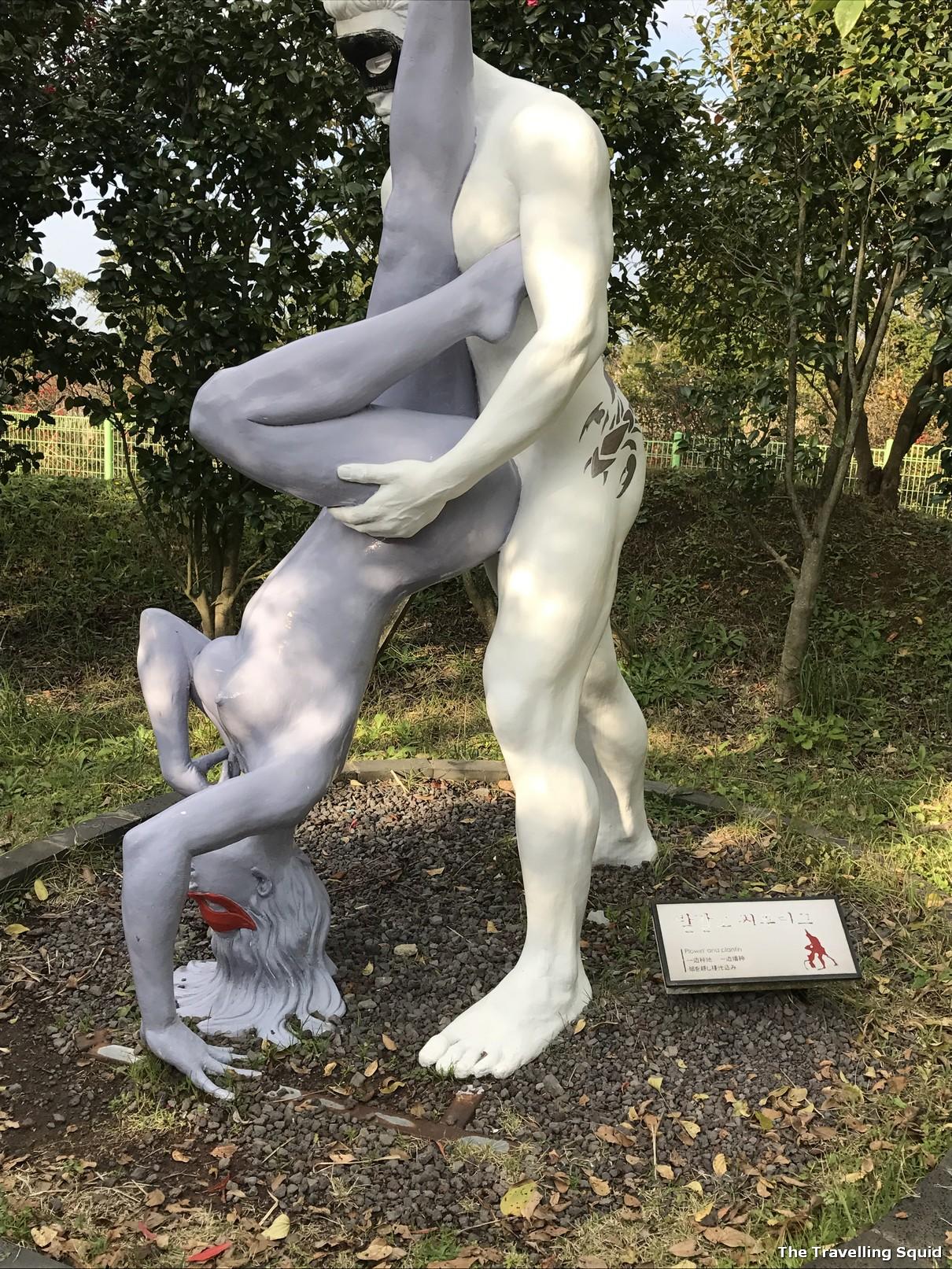 jeju loveland sex sculptures