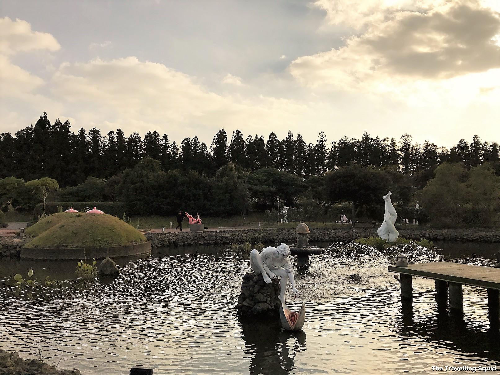 jeju loveland pond