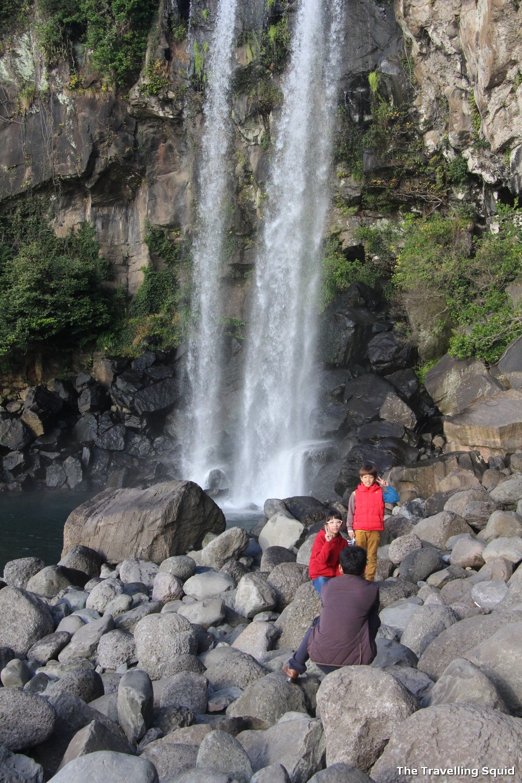jeongbang waterfall jeju