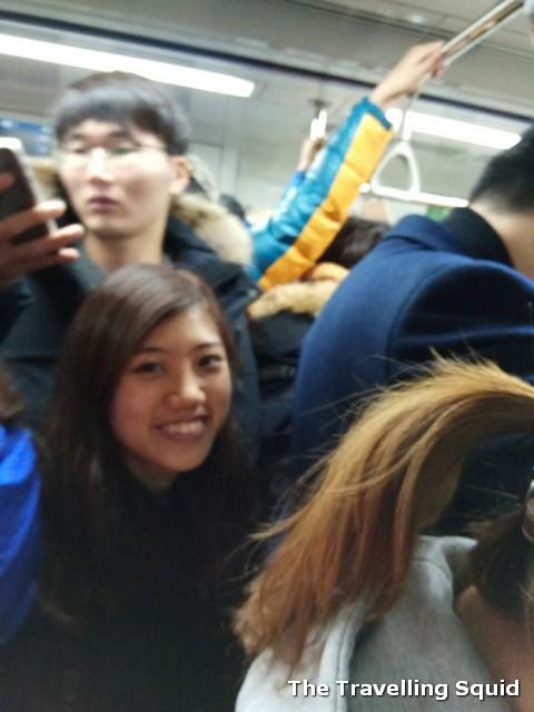 subway squeeze seoul