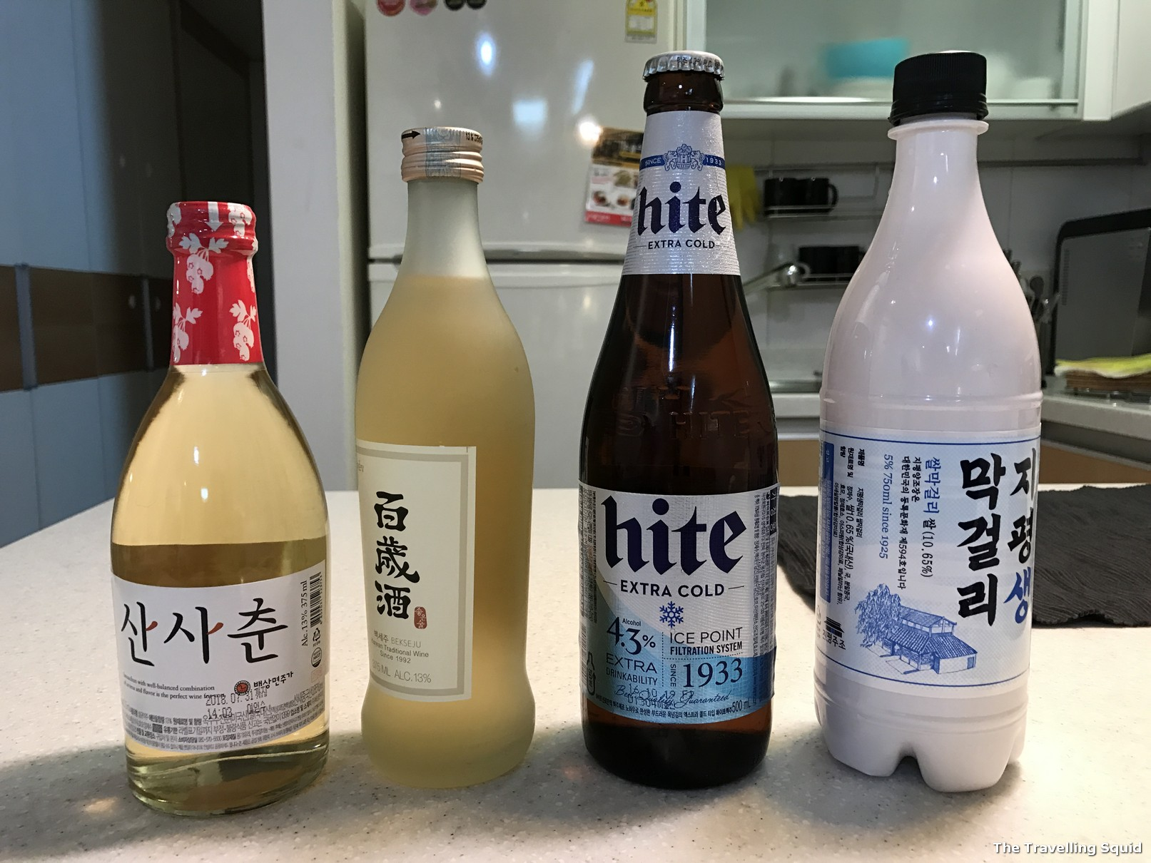 alcoholic drinks to try in South Korea