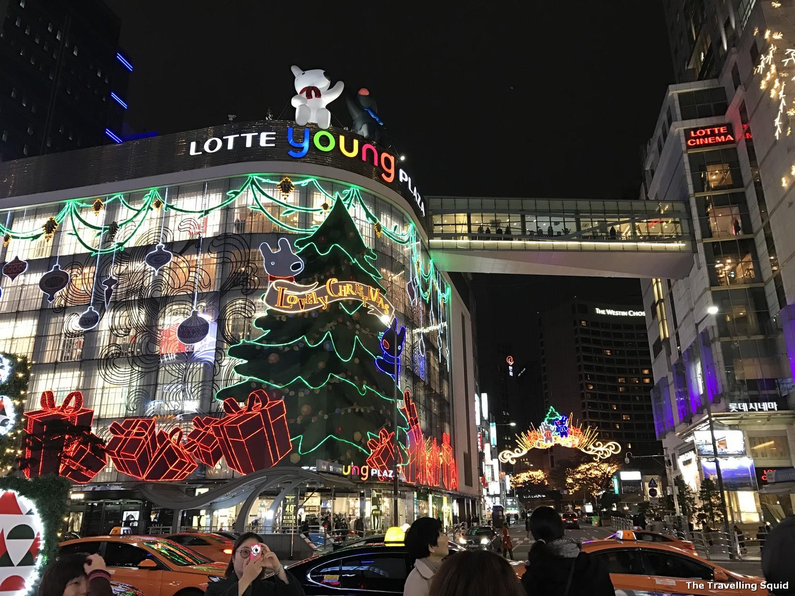 lotte myeongdong food mall