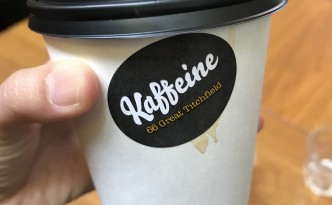 Kaffeine for good coffee in Fitzrovia
