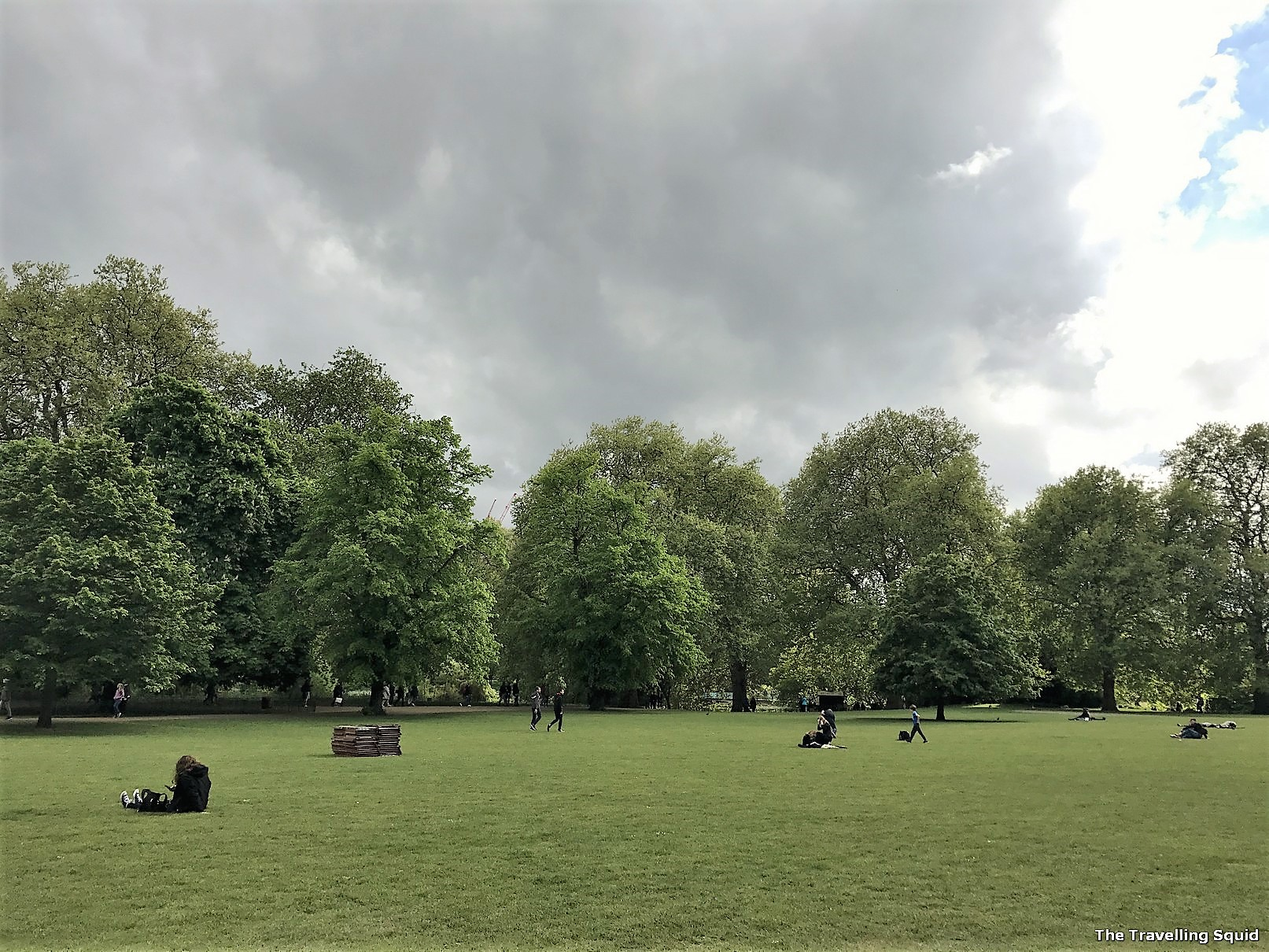st james park london summer