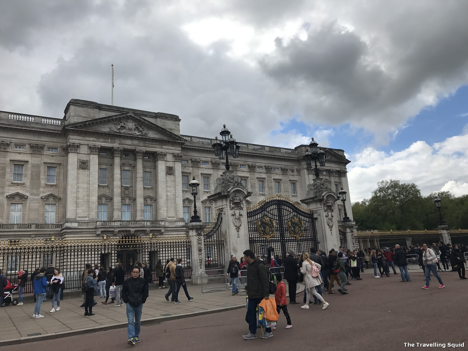 buckingham palace central london