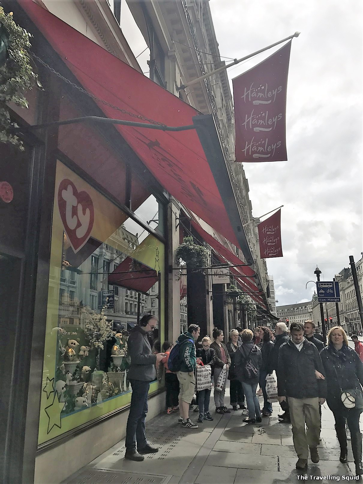 Hamleys toy store on Regent Street