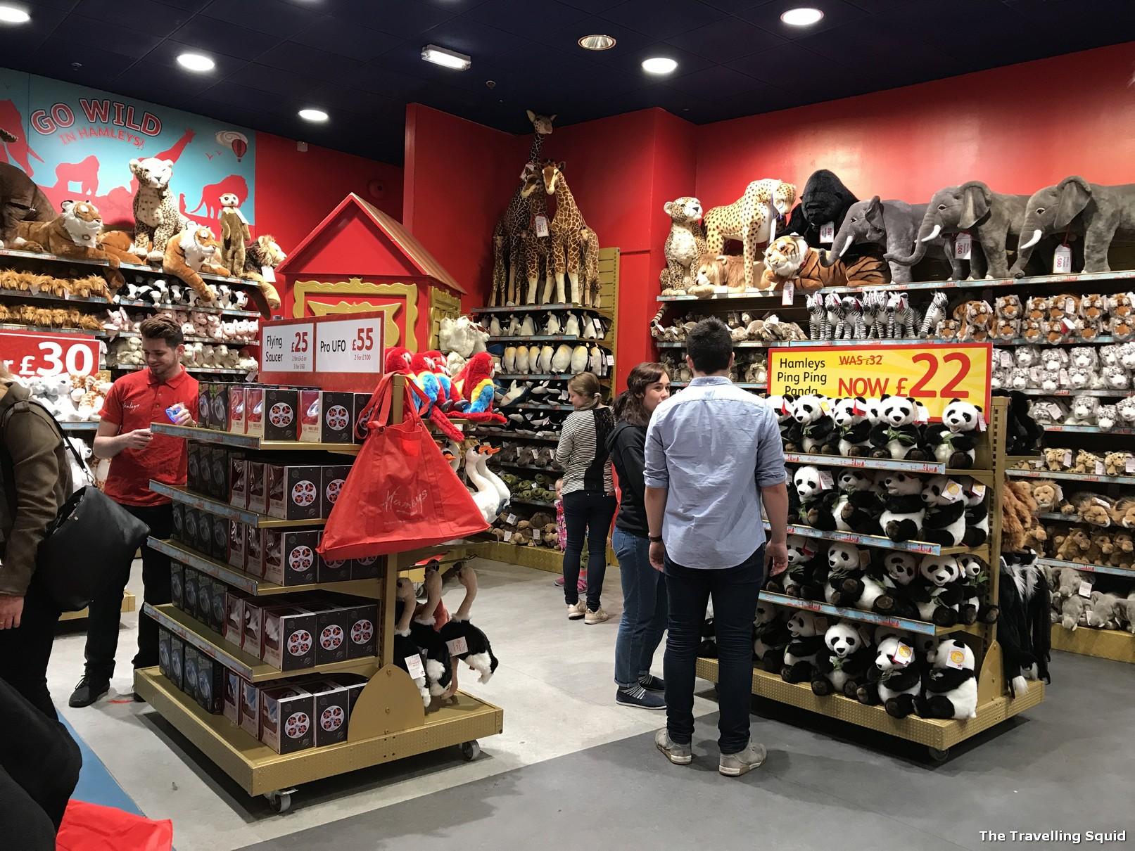 Toys From Hamleys : Visiting the hamleys toy store on regent street