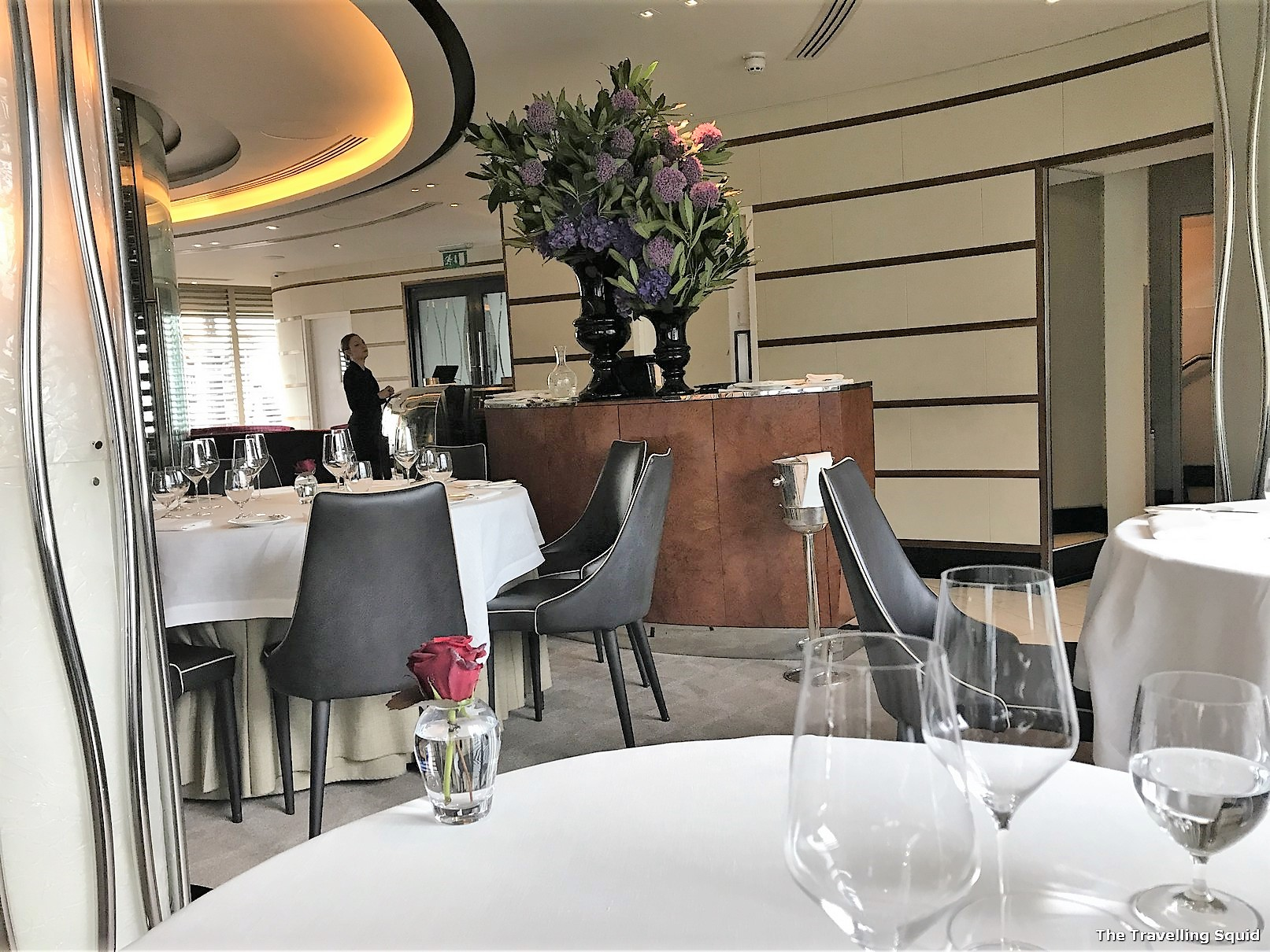 Michelin star dining at Petrus in London