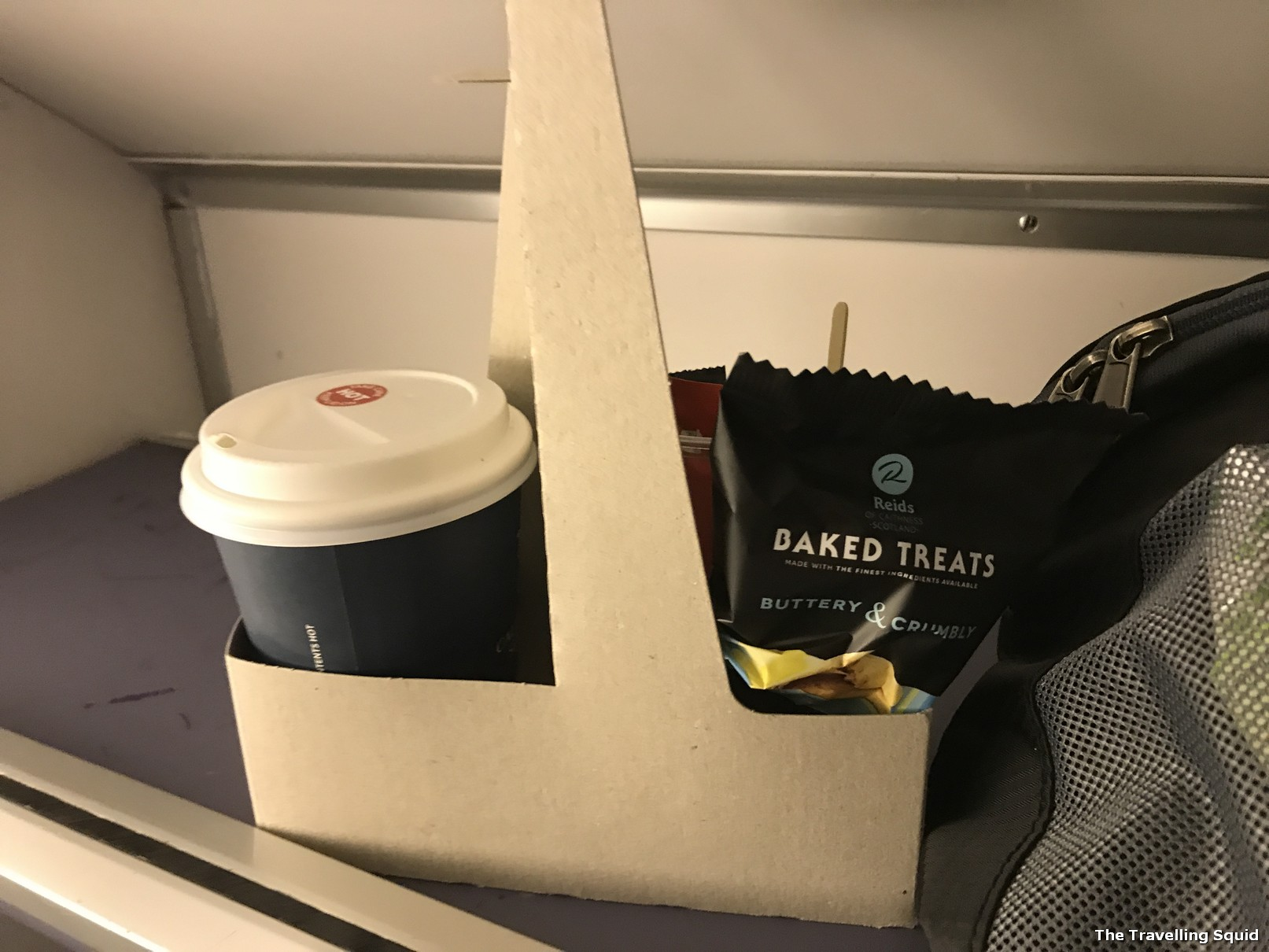 caledonian sleeper london to edinburgh food
