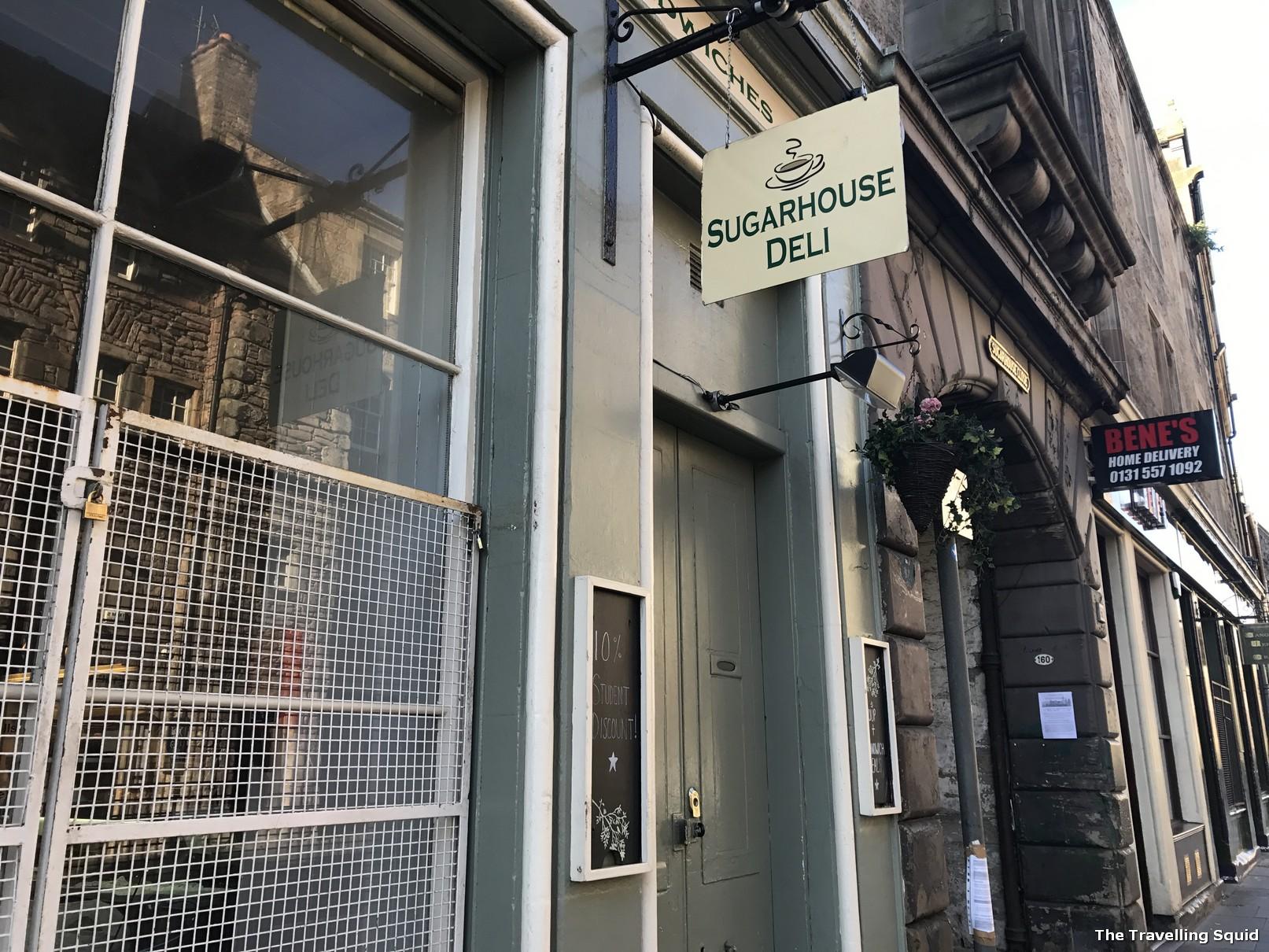 sugarhouse sandwiches edinburgh