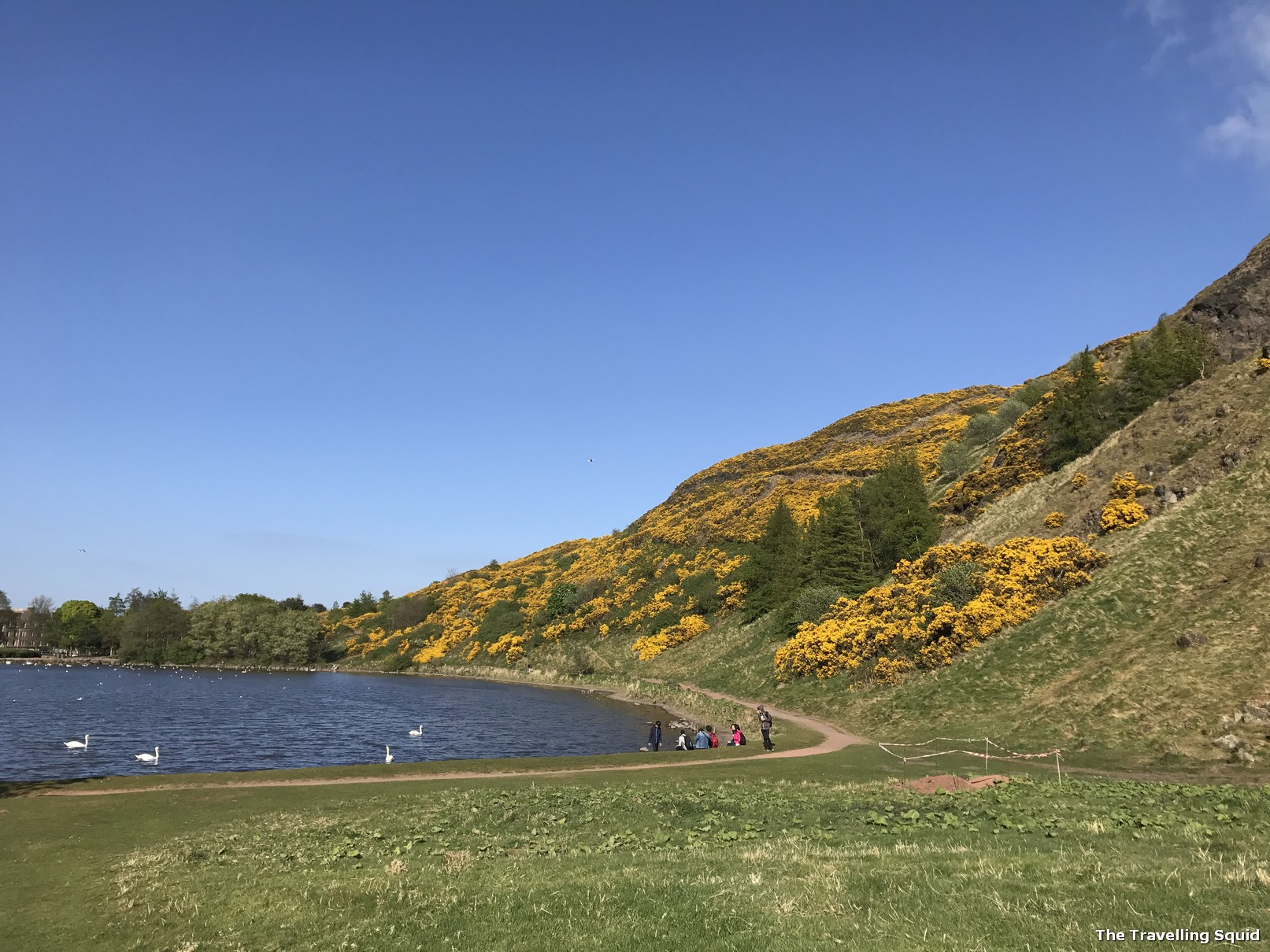 Dunsapie Loch arthurs seat