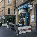 Visit the Southern Cross Cafe in Edinburgh for a Scottish breakfast