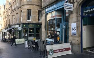 edinburgh southern cross cafe breakfast