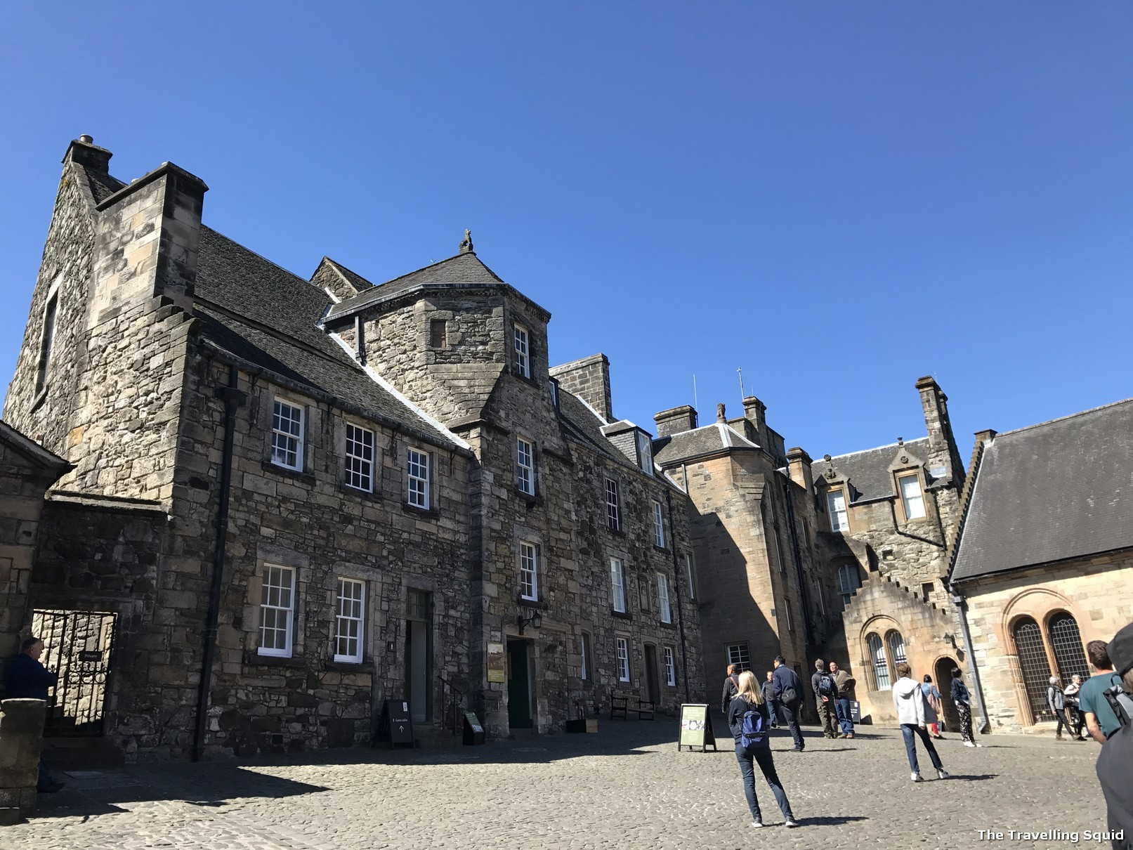 free guided tour of Stirling Castle