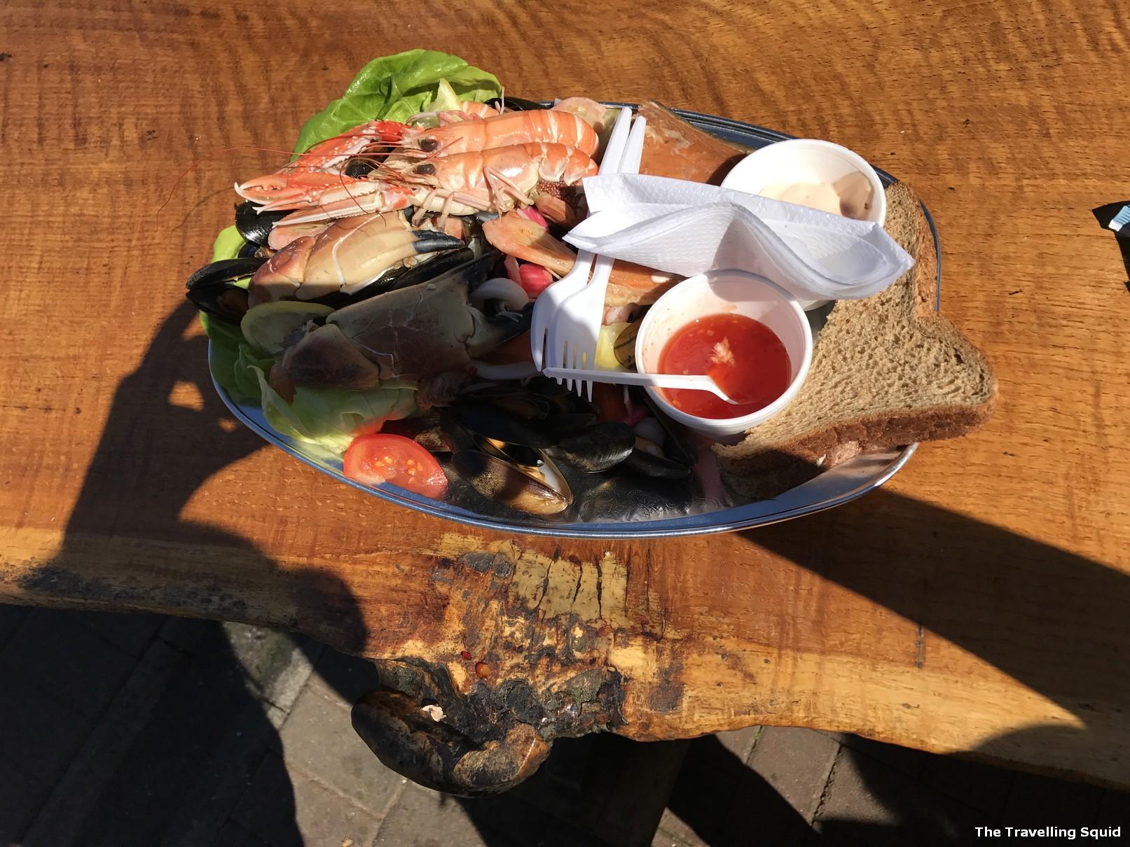 oban seafood hut lobster seafood platter