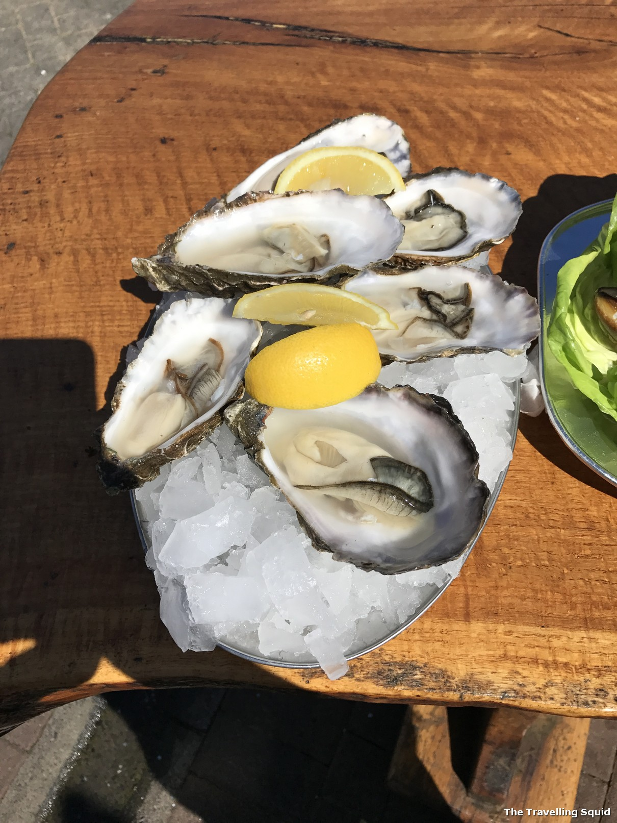 oban seafood hut oysters