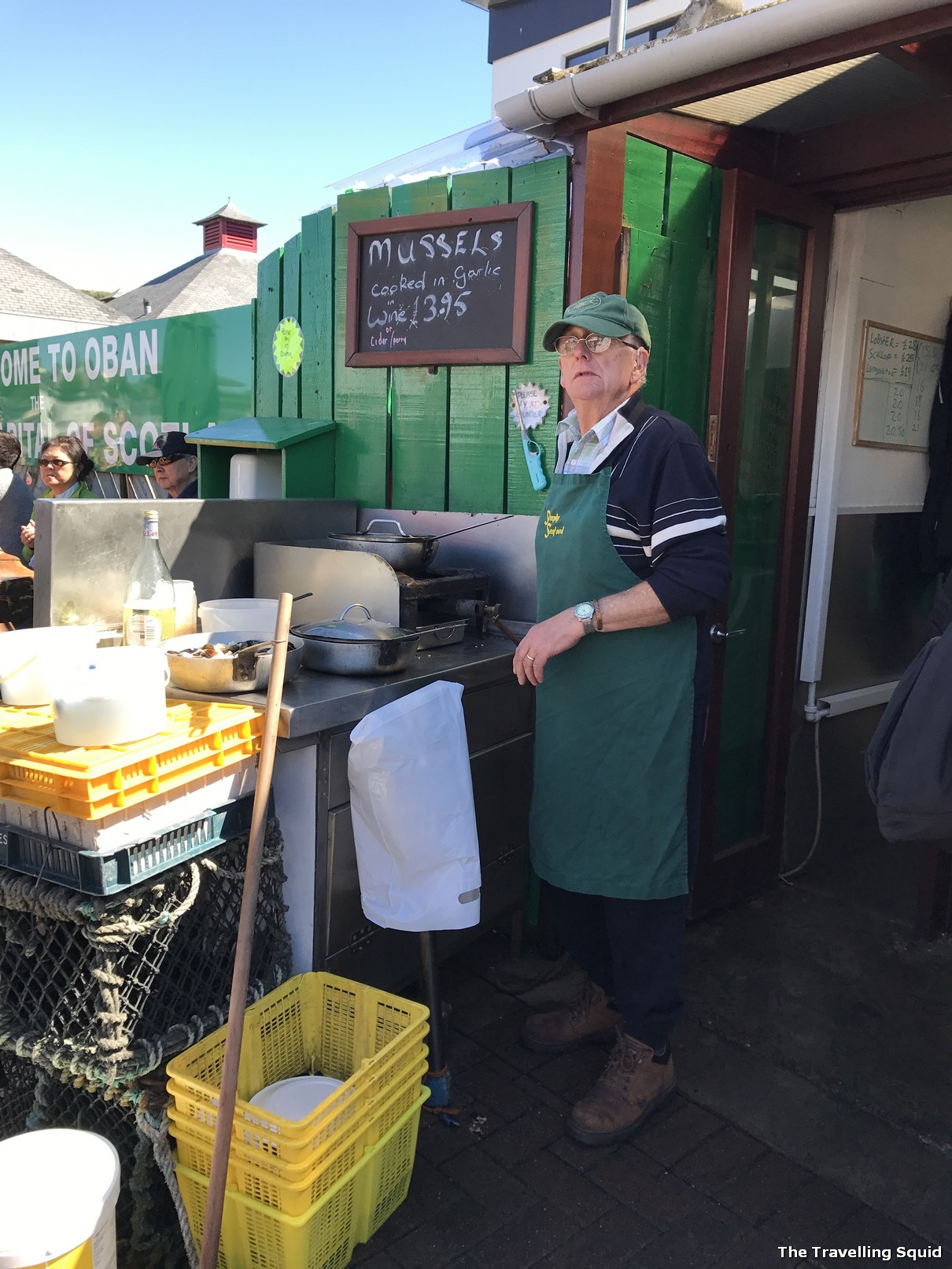 oban seafood hut pier