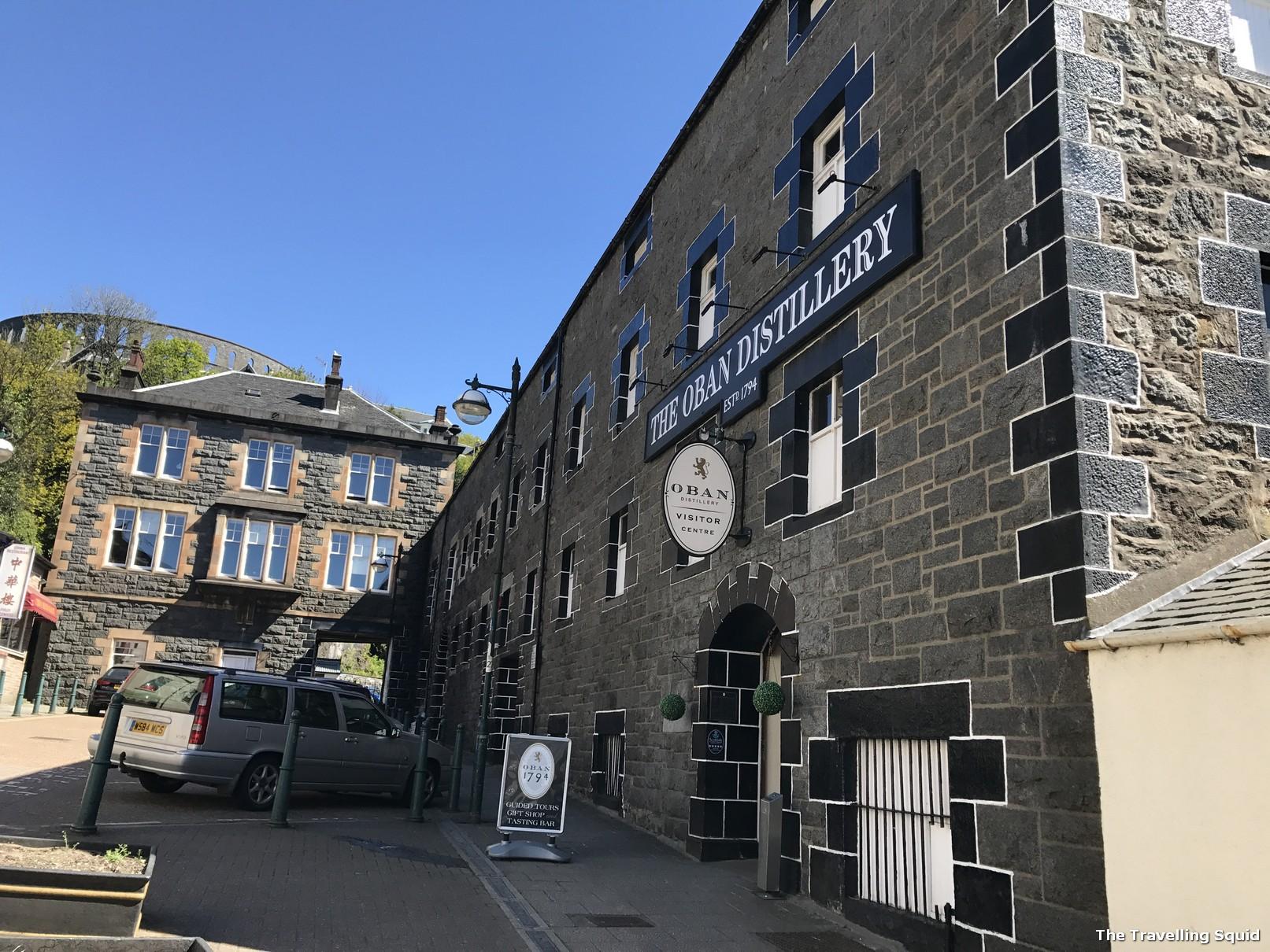 oban distillery tour scotch