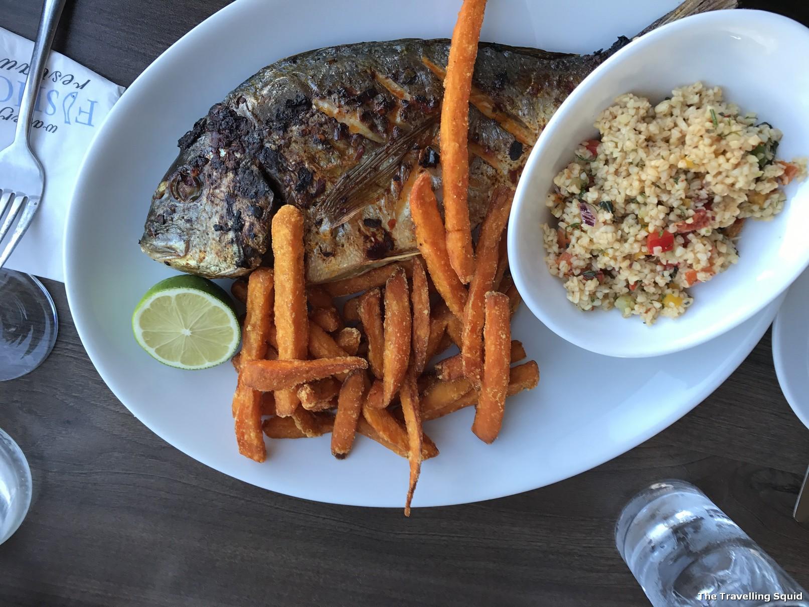 waterfront fishouse restaurant oban bream