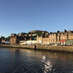Photo story: Sunset at the seaside town of Oban
