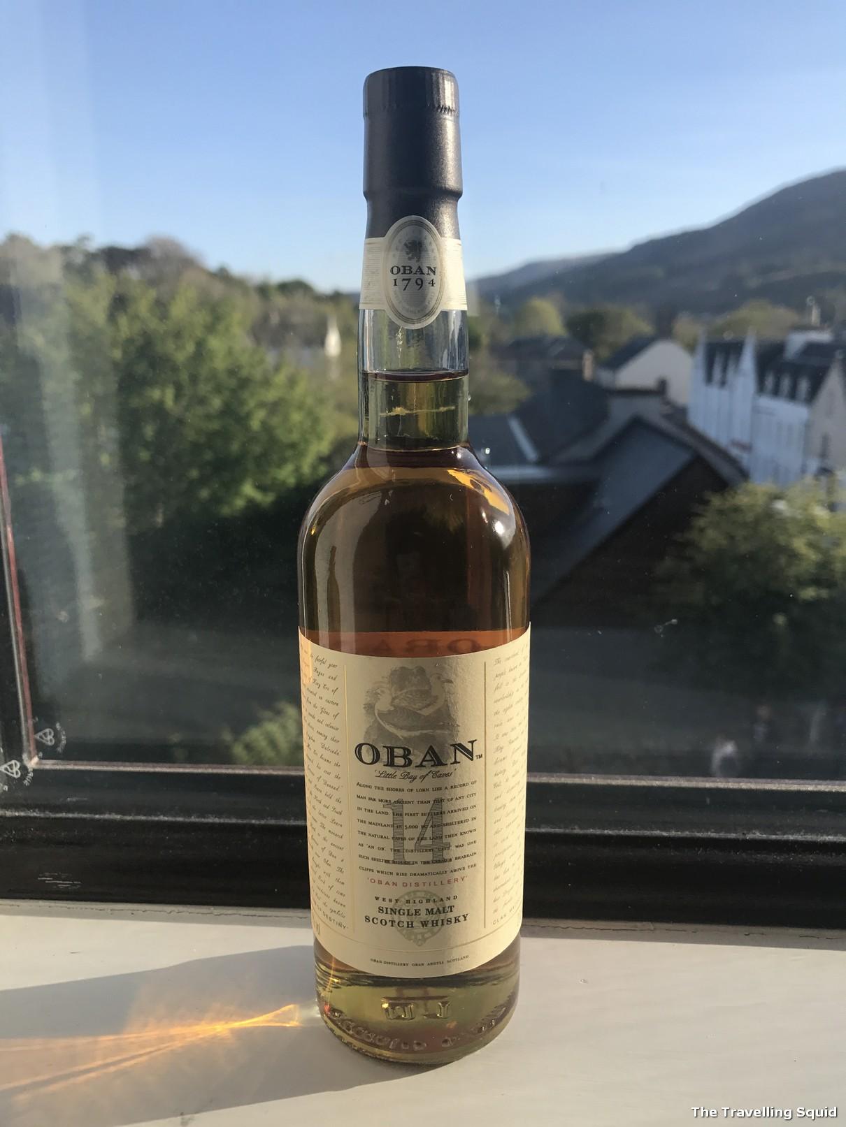 perks of visiting the Oban whisky distillery instead of Talisker