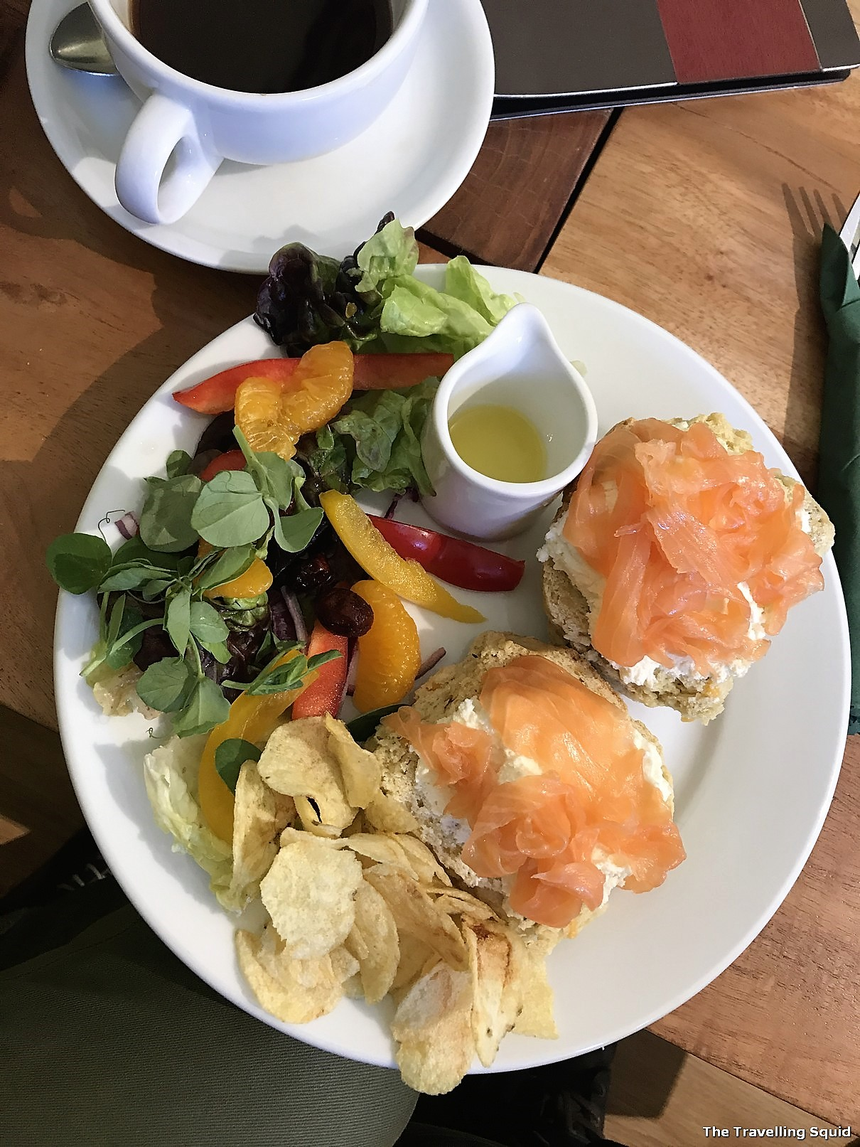 glencoe cafe smoked salmon bagel