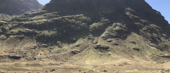 glencoe trek hike mountains