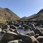 The Meeting of Three Waters in Glencoe and the Five Mile Walk