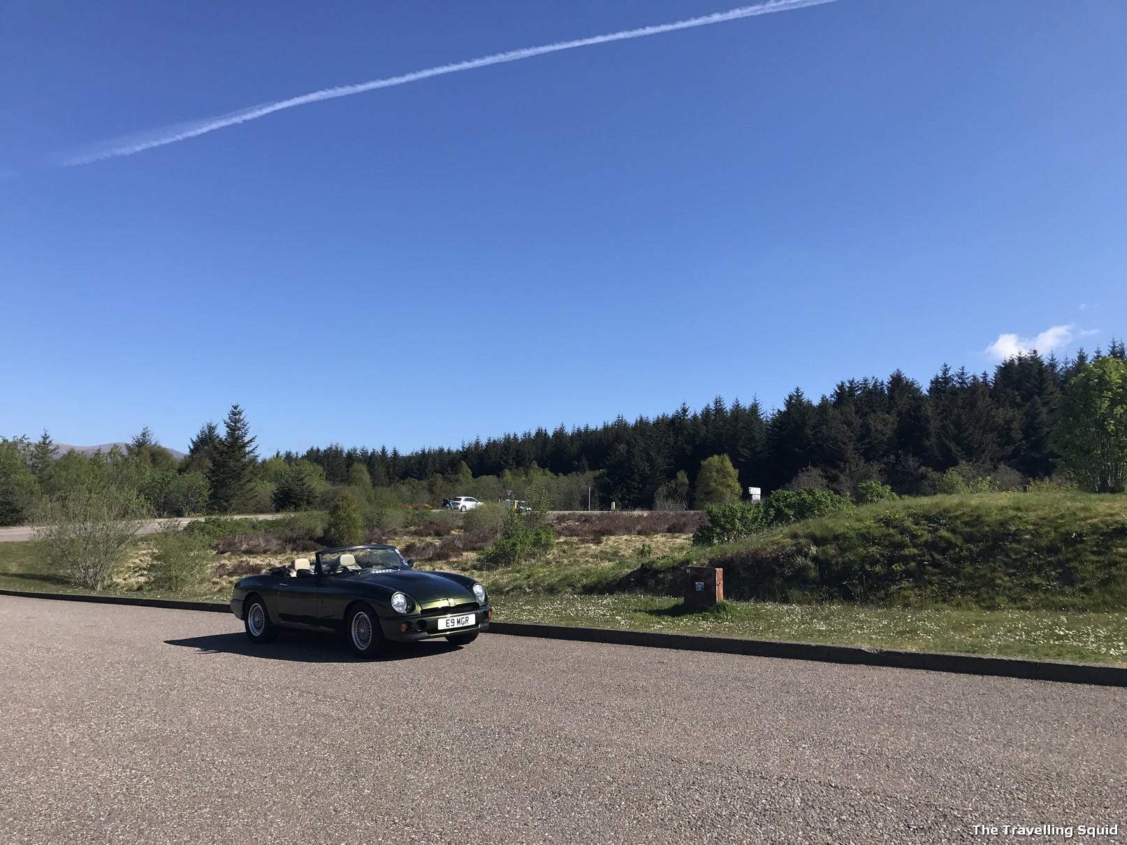 commando memorial fort william driving