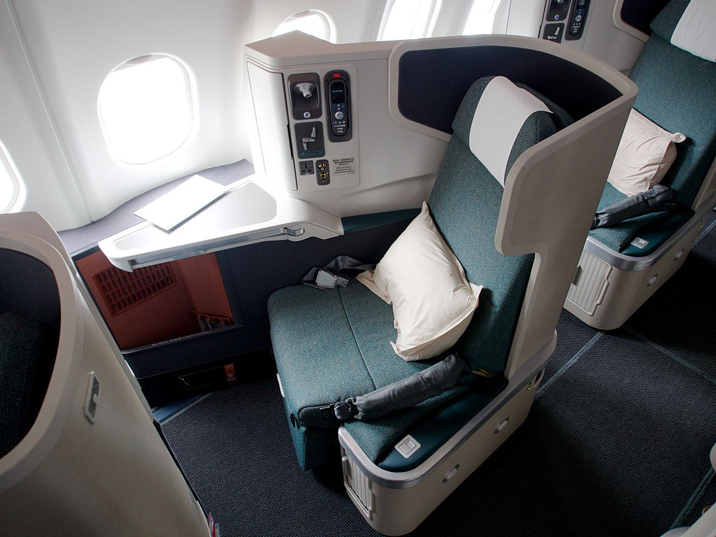 Cathay Pacific A330-300 Business class