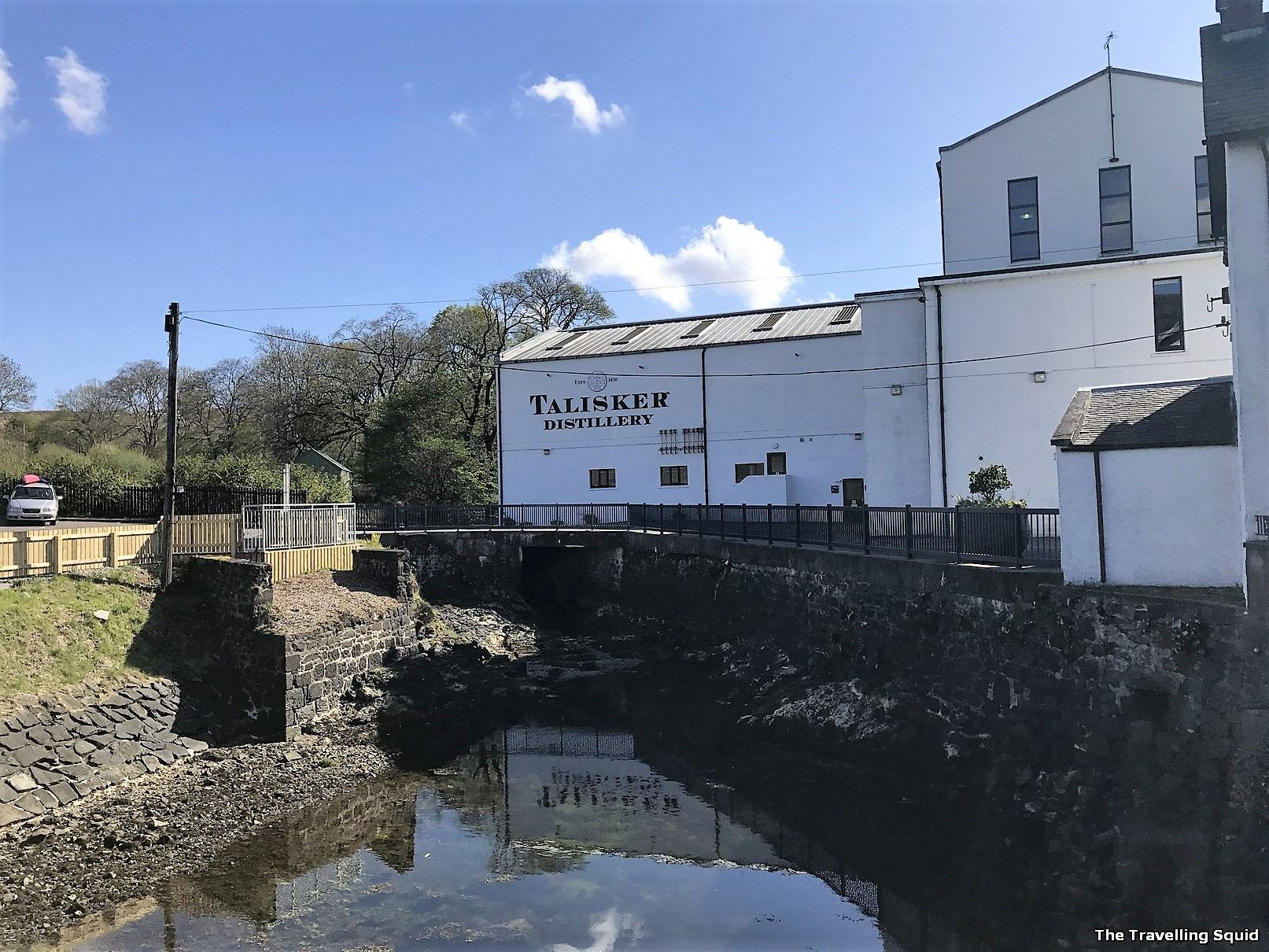 Talisker Distillery in Carbost Isle of Skye