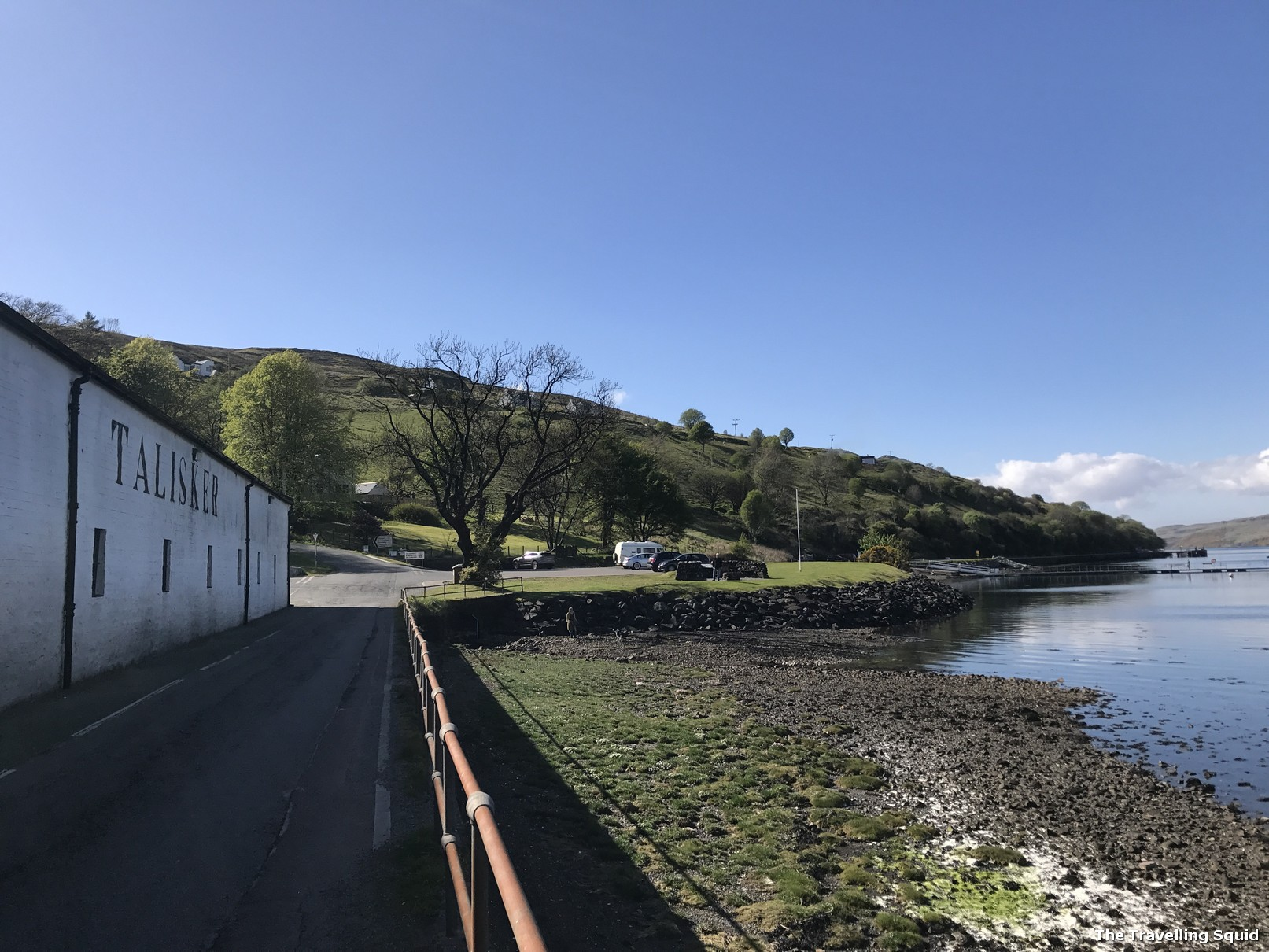 Talisker distillery isle of skye carbost