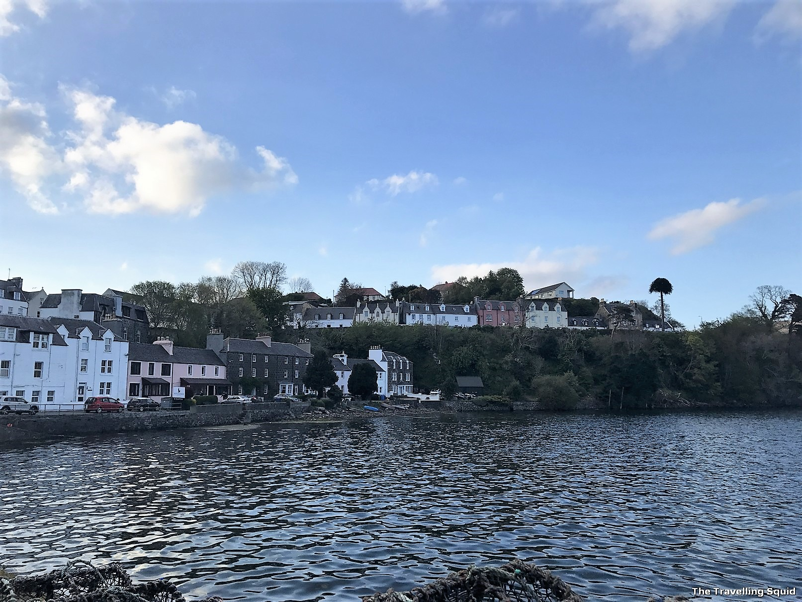 portree harbour isle of skye highlands
